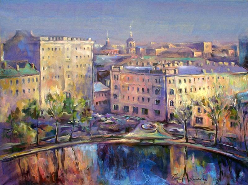 Вилков Борис. Чистые пруды , 2009