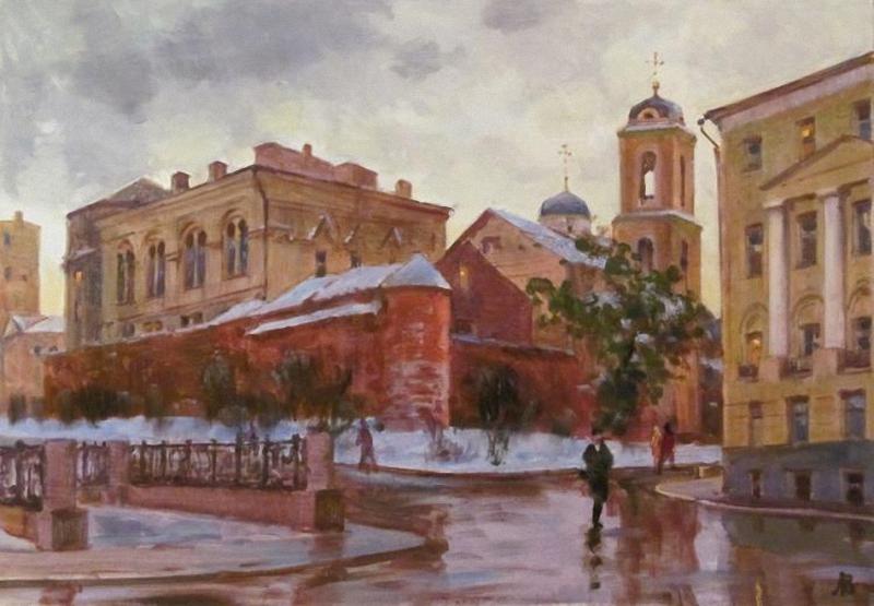 Лаповок Владимир. Рождественский бульвар