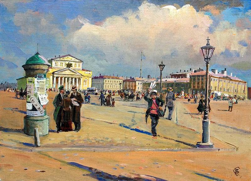В.Г. Соколов. Большой театр