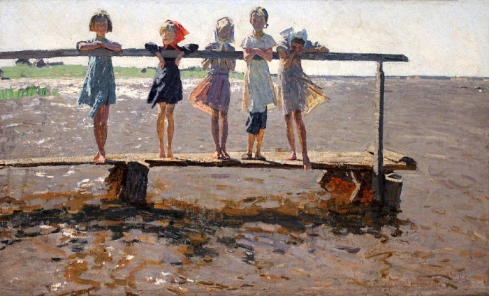 Alexei and Sergei Tkachev - Children