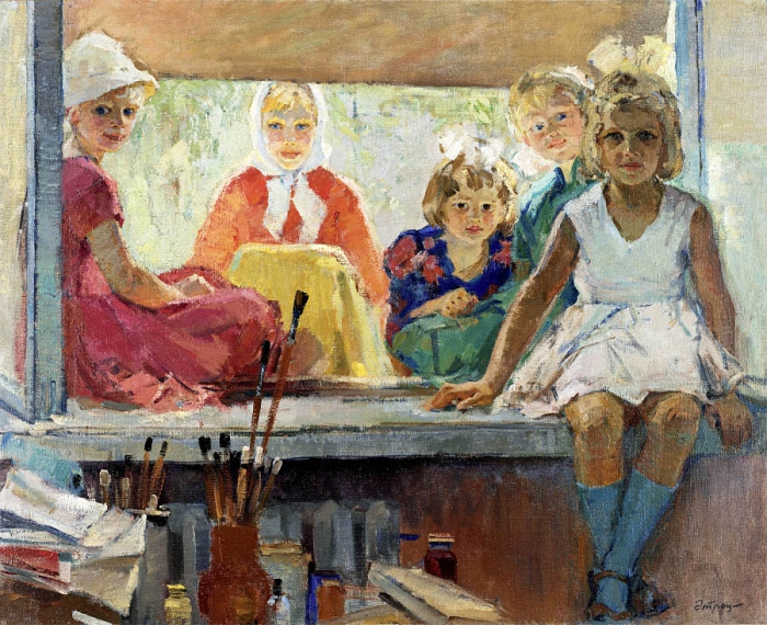 Alexei and Sergei Tkachev - Curious Onlookers