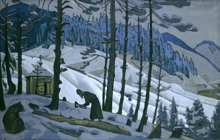Сергий-строитель, 1925