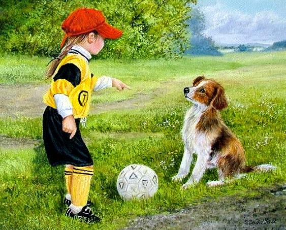 "Схема вышивки  ""Футбол "": оригинал."