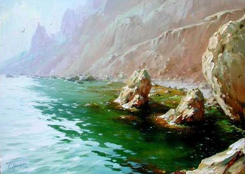 Морские пейзажи и парусники 1