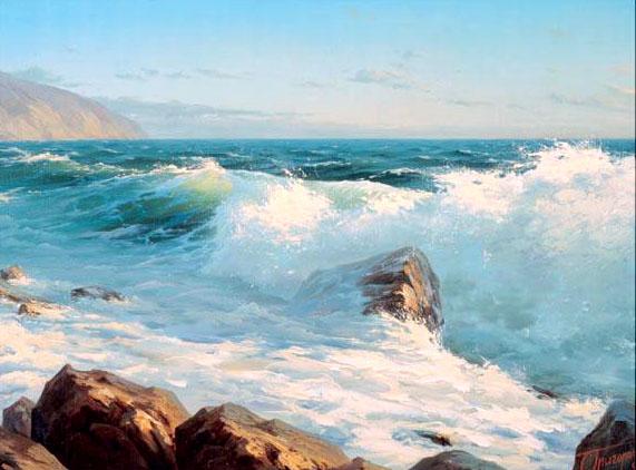Морские пейзажи и парусники часть 1