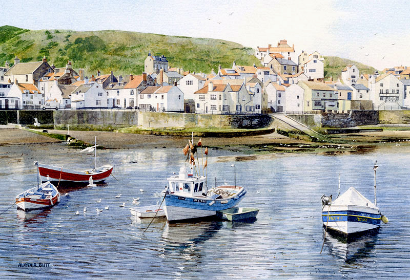 Alistair-Butt-Across-the-Harbour-Staithes