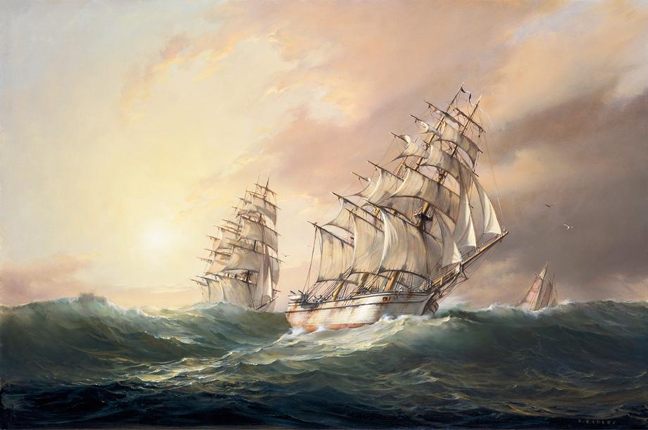 Dusan Kadlec - A Following Sea