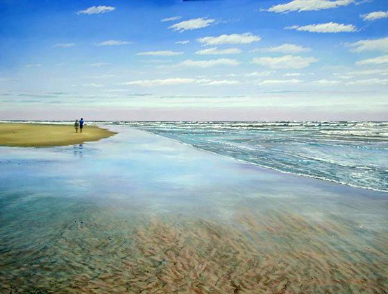 Kenevan-pastel-sea-scape-painting-Lovers1-x