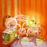 Обложка Сонные сказки  для издательства Азбукварик_150x150