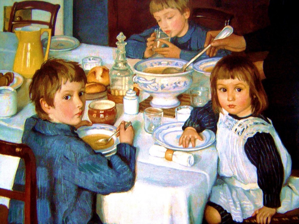 zinaida-serebryakova-at-breakfast-1914