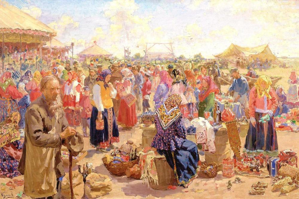ivan-kulikov-a-fair-1910