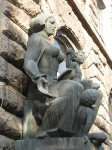 Паямятник матери и ребёнку