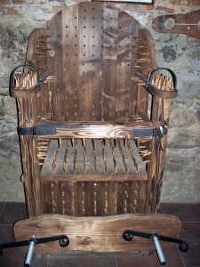 Комната пыток в Ужгородском Замке