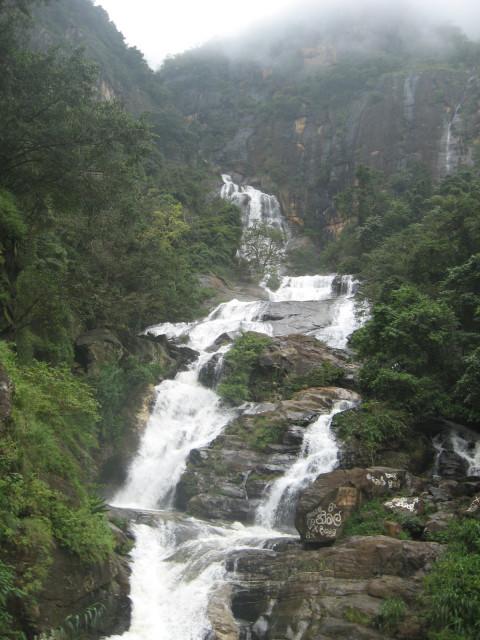 Ravana Water Fall, Ella, Sri Lanka