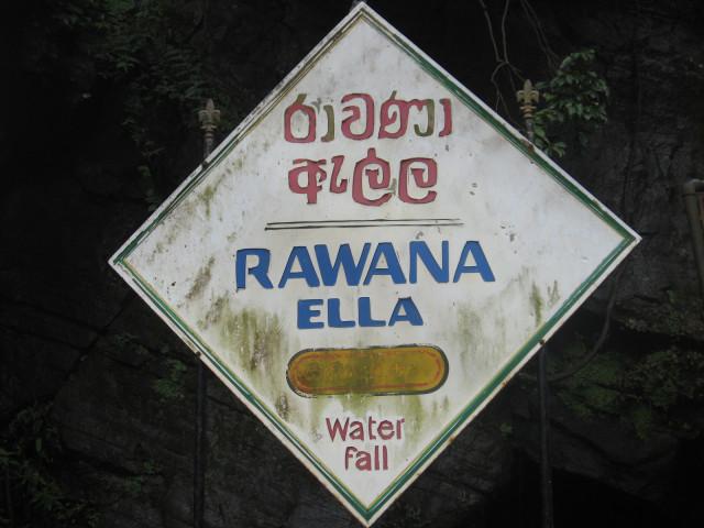 Ravana Ella Water Fall, Sri Lanka