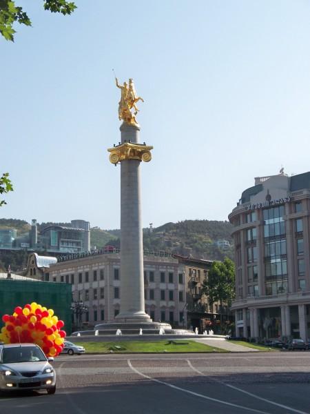 Saint George / Freedom Square, Tbilisi