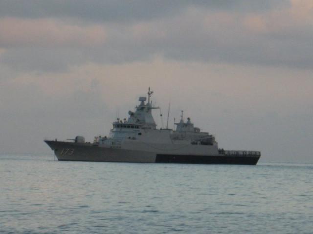 Тиоман - военные корабли