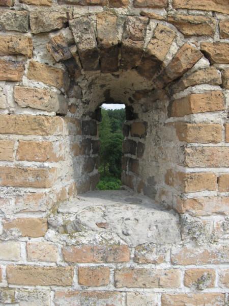 Замок Любарта, Бойница