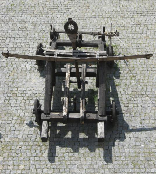 Камнеметатель в Замке Любарта (Луцк)