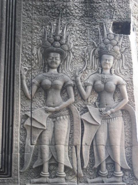 Анкорват  Апсары - небесные танцовщицы