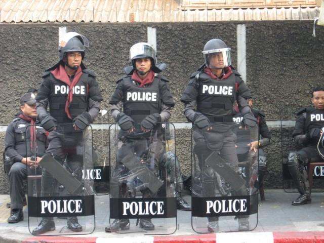 Полиция Бангкока, Апрель 2010 года