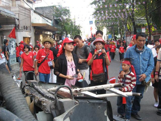 Горячий Бангкок (Апрель 2010 года)