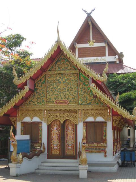 Чианг Май Один из храмов