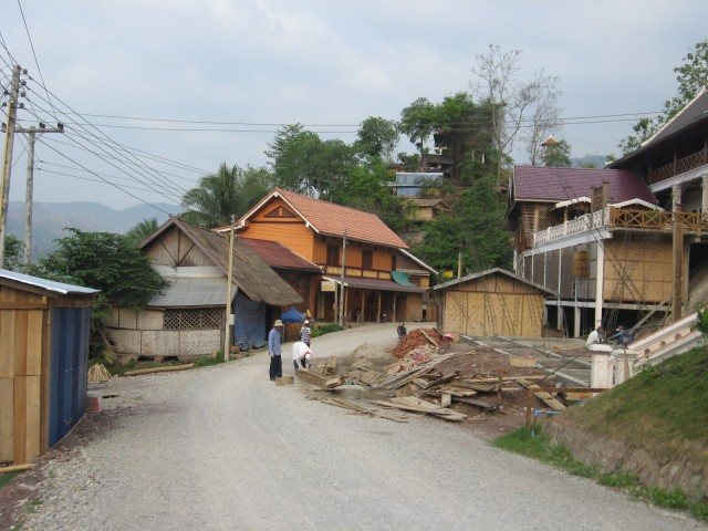 Деревня на Меконге