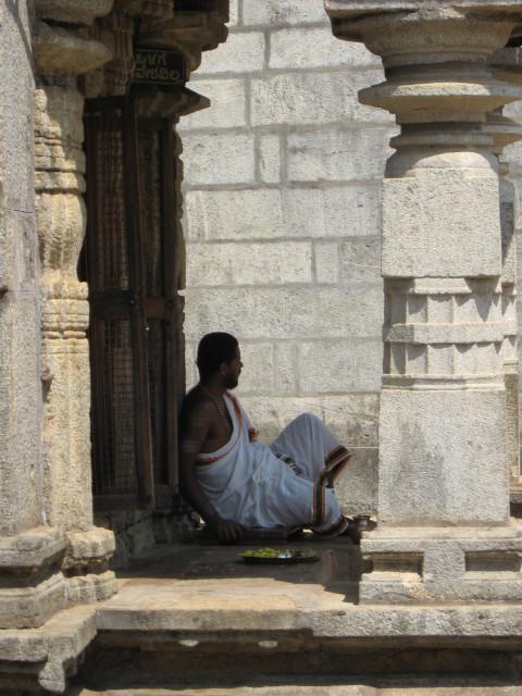 Брахман из храма в Шрингери