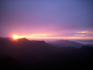 Рассвет над Шри-Ланкой