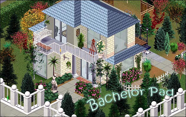 Bachelor Pad Sims 1 Download Saturnfly Sims Real Estate