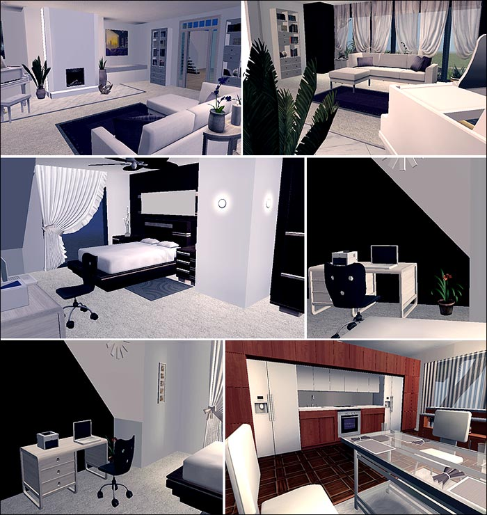 Modern House (The Sims 2 Download)