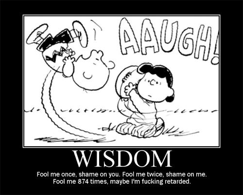 Wisdom Demotivator.