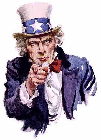 BACK 2 WORK SEZ UNCLE SAM