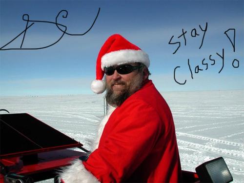 Santa Claus Glossy.