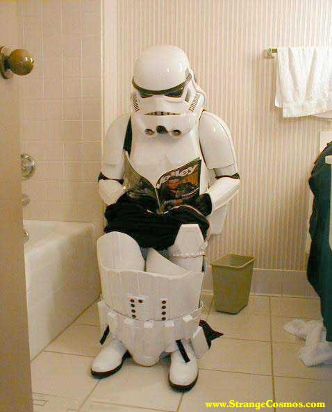 Stormtrooper troop-stop.