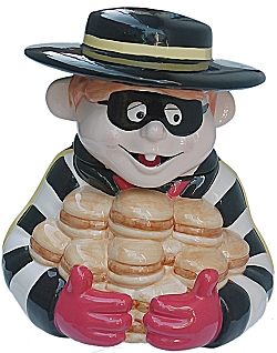 The Hamburglar . . . Ben Roethlisberger?!?
