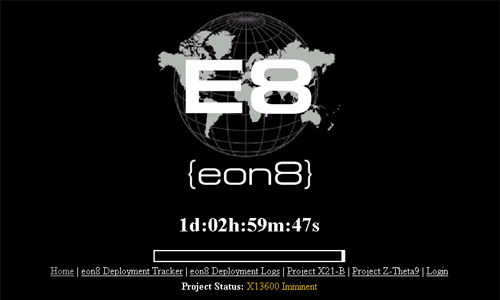 Eon8 Main Page.