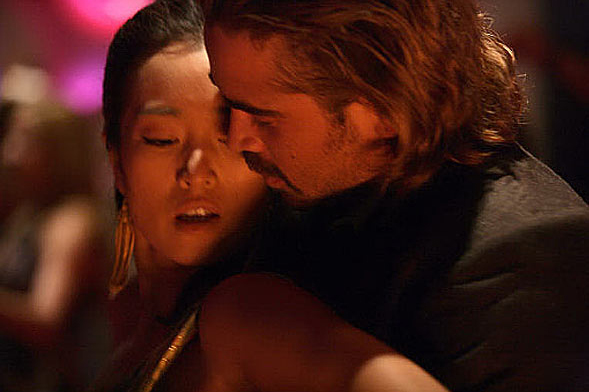 Colin Farrell gets to snuggle up to Gong Li, and you don't.