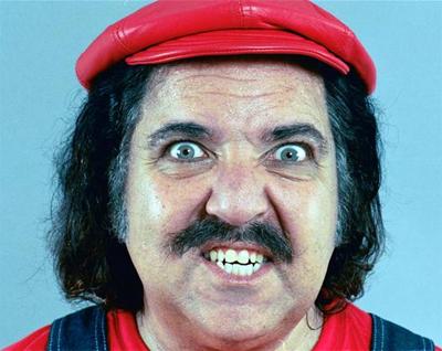 Ron Jeremy Mario.