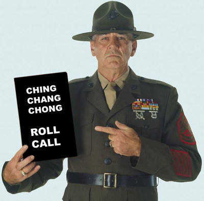 R Lee Ermey . . . Sound Off!