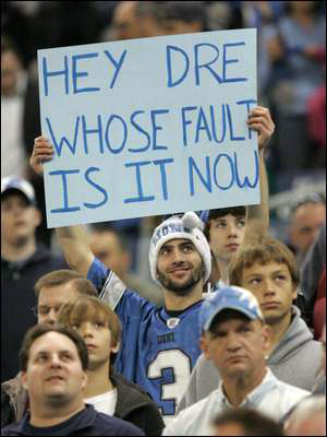 Yeah, Dre, who is to blame now?