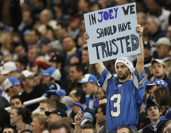 In Joey We Should Have Trusted.