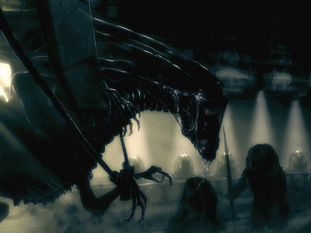 Alien Queen by Stan Winston