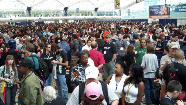Crowd at the Con 2008