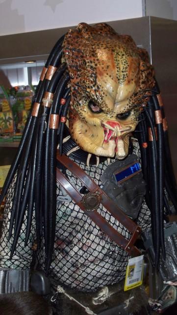 Predator costume looked cool