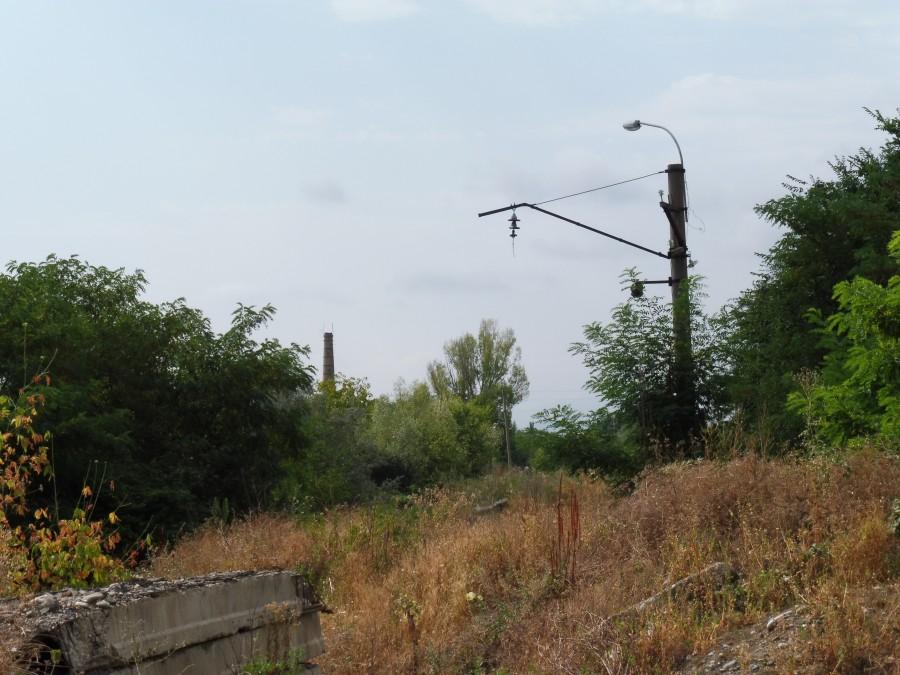 Цхинвал, по следам железной дороги