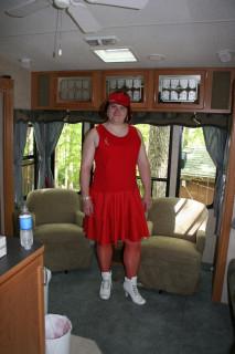 Heidi Ho, Red Dress
