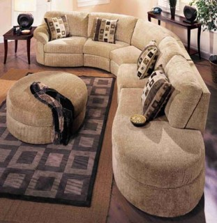 Lane South Beach Fabric Sectional
