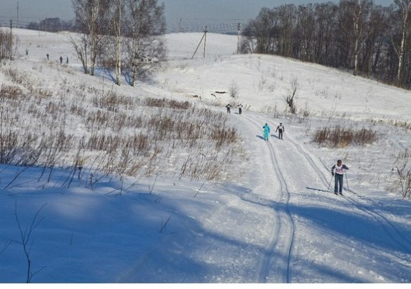 катание на лыжах Колтуши 01
